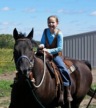 MN horse riding lessons