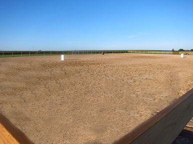 Large Outdoor Riding Arena