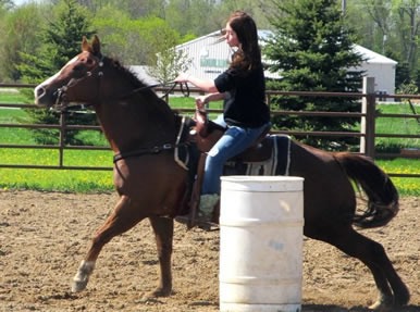 barrel racing in Minnesota